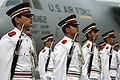 Bahraini honor guard for Robert Gates 12-6-07 071206-F-6655M-471 0YDDX.jpg