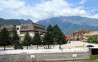 Bajram Curri (town) - Image: Bajram Curri Qytet