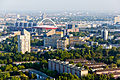 Ballonfahrt über Köln - Ingenieurwissenschaftliches Zentrum (Fachhochschule Köln), Lanxess-Arena-RS-4118.jpg