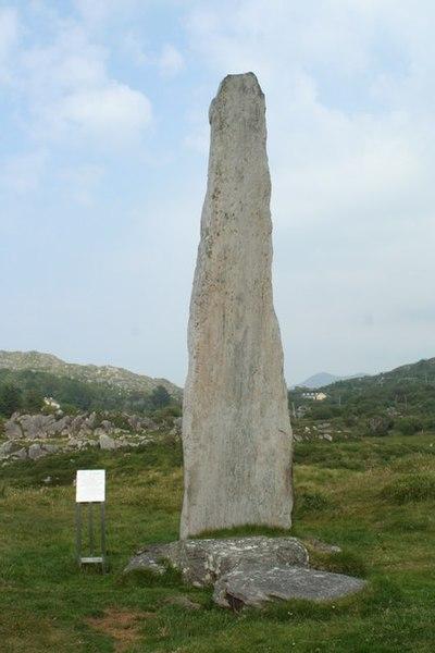 File:Ballycrovane Ogham stone - geograph.org.uk - 507477.jpg