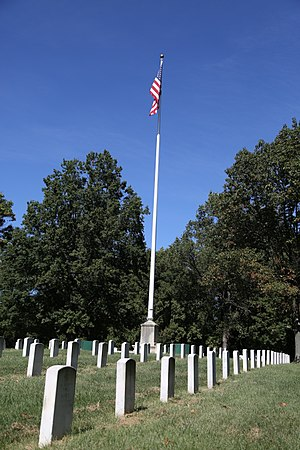 National Register of Historic Places listings in West and Southwest Baltimore - Image: Baltimore National Cemetery 17
