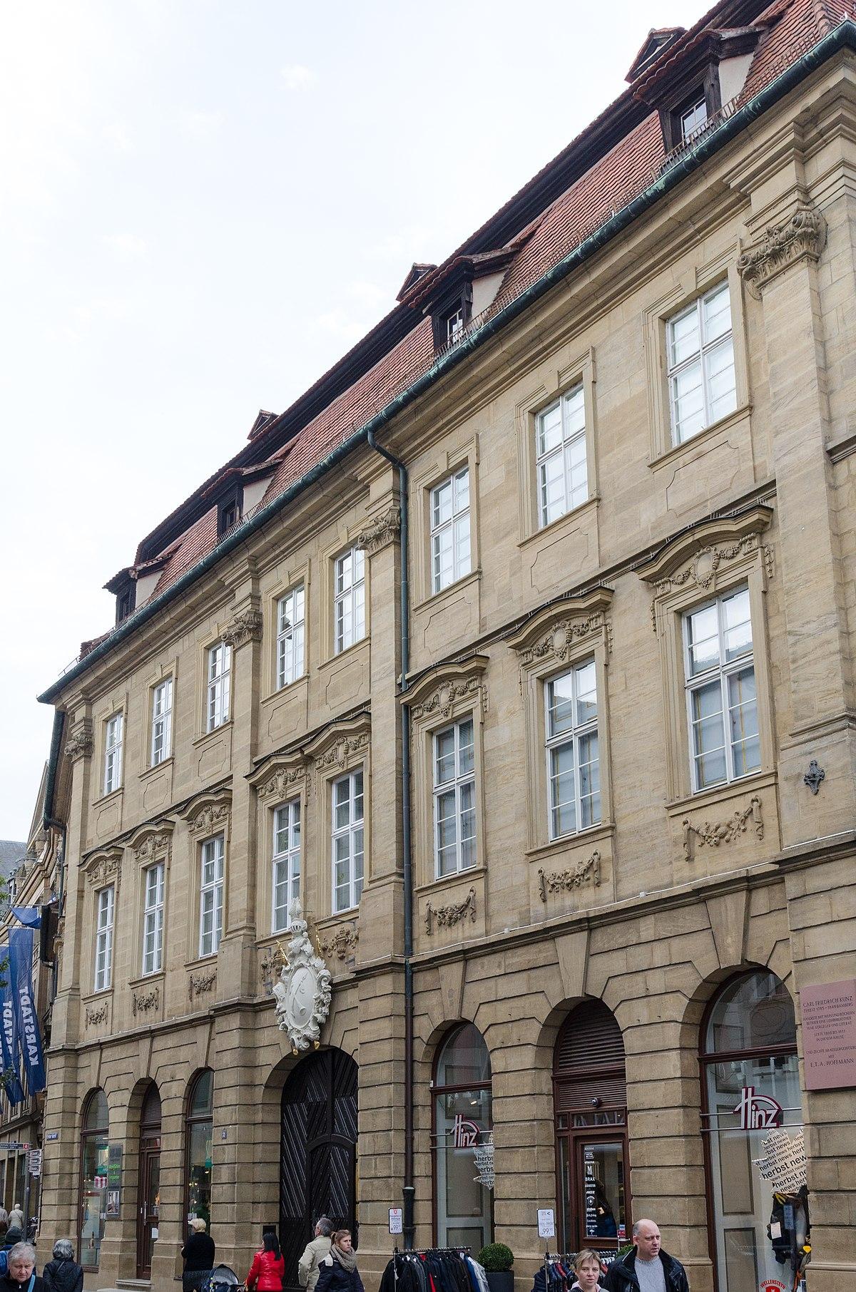File:Bamberg, Grüner Markt 31, 20151019-001.jpg