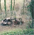 Banbury burn out Hardwick car 2000 (2).jpg