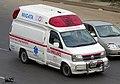 Bangladesh Nissan Elgrand Paramedic (E50) Ambulance (25789788855).jpg