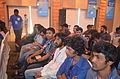Bangladeshi Wikimedians at Bengali Wikipedia 10th anniversary celebration gala event, Dhaka (03).JPG