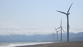 Bangui Windmills, East View, Ilocos Norte, Philippines - panoramio.jpg