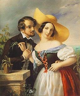 Barabas, Miklos - Flirtation (1841)