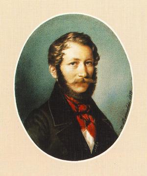 Miklós Barabás - Self-portrait (1839)