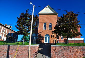 Baraga County, Michigan - Image: Baraga County Courthouse and Annex