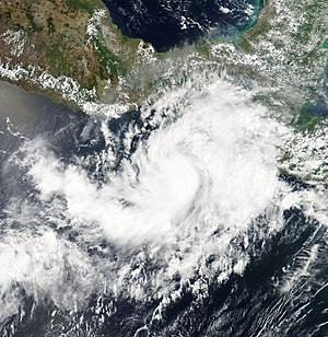 2007 Pacific hurricane season - Image: Barbara 2007 06 01 1958Z