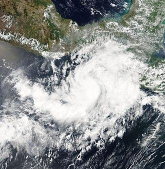 2007 Pacific hurricane season - Image: Barbara 2007 06 01 1958Z