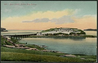 Bare Island (New South Wales) - Bare Island, 1910