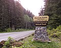 Barlow Pass trailhead sign Mountain Loop Highway 2014.jpg