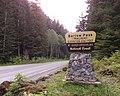 Barlow Pass trailhead sign Mountain Loop Highway 2014.jpg