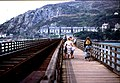 Barmouth railway and footbridge - geograph.org.uk - 112028.jpg