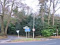 Barnt Green Crossroads - Brookhouse Road - geograph.org.uk - 1101915.jpg