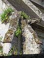 Baron (60), église Saint-Pierre-et-Saint-Paul, collatéral nord, gargouille et contreforts d'angle nord-est 2.JPG