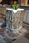 Barth, church St. Marien, the baptismal font.jpg