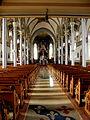 Basilica of Saint Francis Xavier (Dyersville, Iowa), interior, nave, view from rear.jpg
