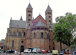 Basilica of Saint Servatius - St. Servatius at Vrijthof Square