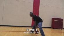 Fil: Basketball-basistyper af Dribbling.webm