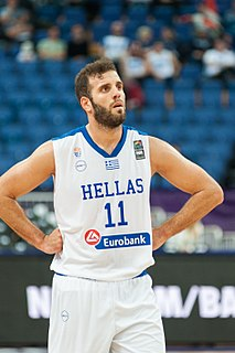 Greek professional basketball player