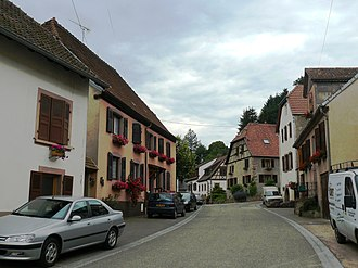 Bassemberg - The main street of Bassemberg