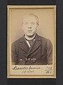 Bassille. Maurice, Eugène. 19 ans, né à Paris Ille. Portefeuilliste. Anarchiste. 9-3-94. MET DP290108.jpg