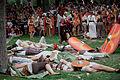 Batalla entre castrexos e romano. Festa do esquecemento. Xinzo de Limia, Ourense, Galicia 2.jpg