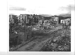 I danni causati durante la Seconda Guerra Mondiale