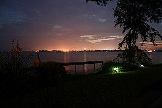 Bay of Quinte - Image: Bay of Quinte at Night