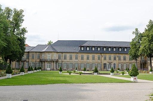Bayreuth, Neues Schloß, von Osten