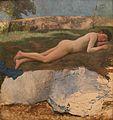 Bazille-Jeune homme nu couché sur l'herbe.JPG