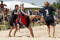 Beachhandball Goal Shot.jpg
