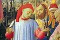 Beato angelico, pala strozzi della deposizione, con cuspidi e predella di lorenzo monaco, 14.JPG