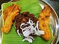 Beefy banana fry Local Restaurant - Trivandrum - Kerala - A01.jpg