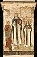 Begijnhofkerk, muurschildering , H.Catharina van Alexandrië , H.Catharina van Sienna en H.Agnes van Montepulciano - 373763 - onroerenderfgoed.jpg