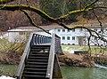 Beim 366 km langen Neckartalradweg, Blick auf das Wasserwerk Neckarburg - panoramio.jpg