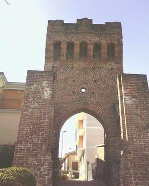 Beinasco - Image: Beinasco Middle Ages Tower