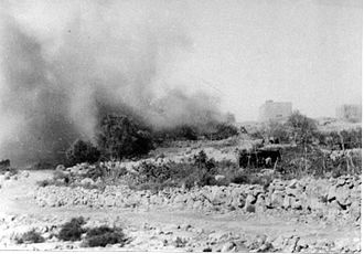 Bayt 'Itab - House demolition in Bayt 'Itab, 1948.