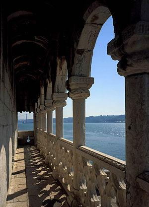 Belém Tower - Renaissance Loggia