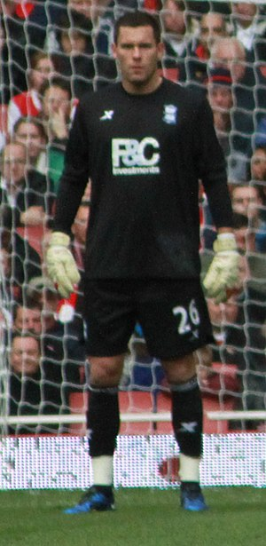 Ben Foster (footballer) - Foster playing for Birmingham City in 2010