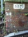 Benchmark on Cow Lane bridge - geograph.org.uk - 2029462.jpg