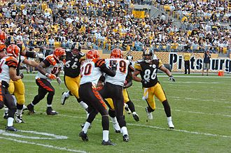 Bengals–Steelers rivalry - Image: Bengals at Steelers MRR 0215