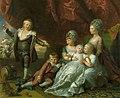 Benjamin West (1738-1820) - Princess Augusta, Princess Elizabeth, Prince Ernest, Prince Augustus, Prince Adolphus and Princess Mary - RCIN 404574 - Royal Collection.jpg