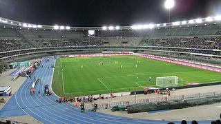 Stadio Marcantonio Bentegodi Building in Verona, Italy