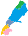 Beqaa blank districts.png