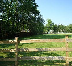 Berkeley Heights NJ ballfield and fence