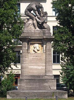 Rudolf Virchow Monument Monument in Berlin