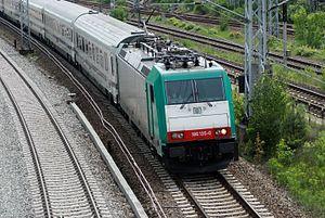 Berlin–Wrocław railway - The Berlin-Warsaw Express in 2010